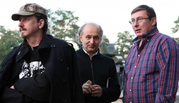 Слева направо - народный депутат от фракции