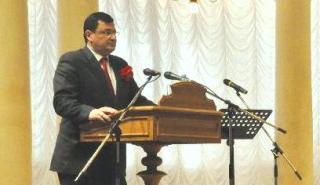 В торжественном акте по случаю открытия Конгресса принял участие Министр здравоохранения Украины Александр Квиташвили