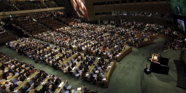 Зал ГА ООН, иллюстрация / REUTERS