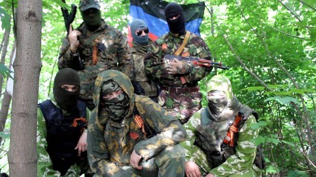 боевики днр террористы / www.youtube.com