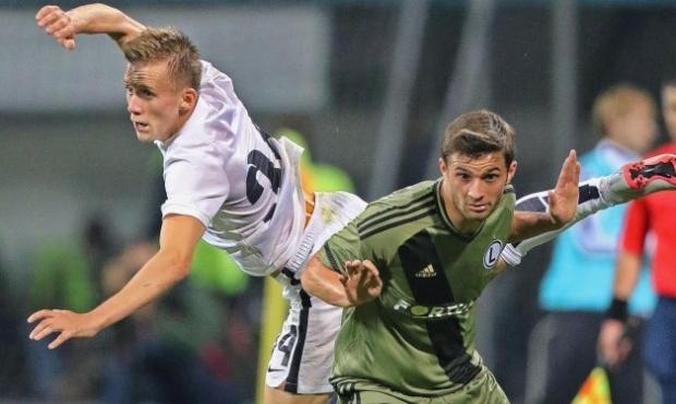 Іван Петряк (ліворуч) провів п`ять матчів у єврокубках / Фото УНИАН