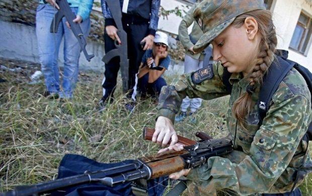 Почти тысяча женщин-военнослужащих приняли участие в АТО