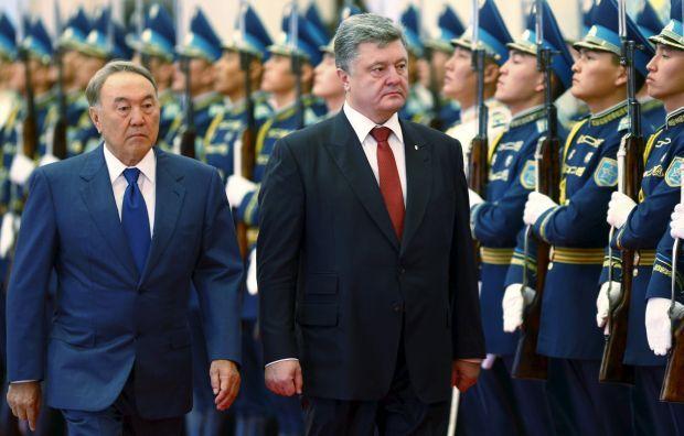 Порошенко и Назарбаев обсудили расширение сотрудничества Украины и Казахстана