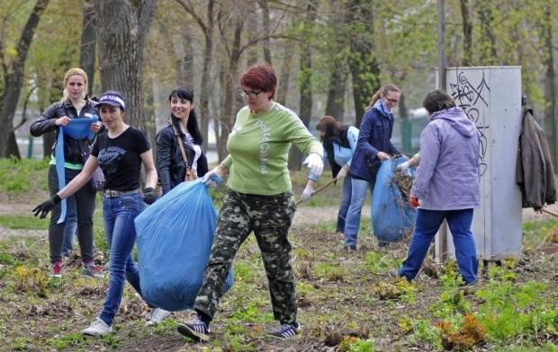 Завтра во всех районах Киева пройдут субботники