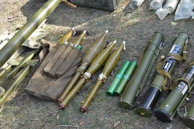 Law enforcers are investigating the fact, seeking to identify those involved in the illegal possession of weapons / sbu.gov.ua