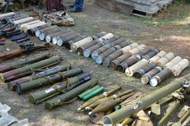 Law enforcement officers found a cache with weapons / sbu.gov.ua