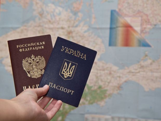 There were promises to even send passports to the frontline / Photo from UNIAN