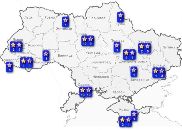 Легализация игорного бизнеса: где в Украине могут появиться казино