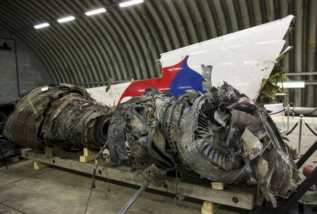 Уламки Boeing 777 авіакомпанії Malaysia Airlines / REUTERS