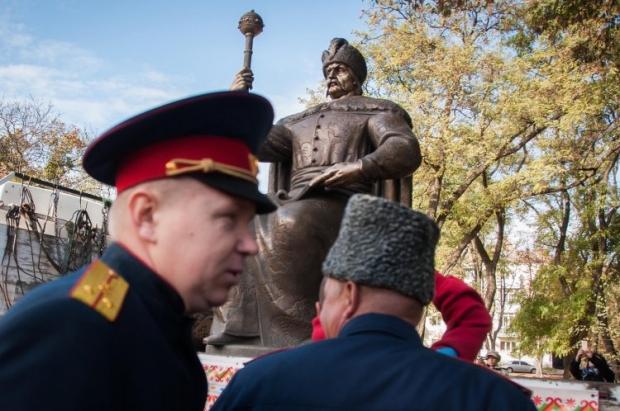 В Полтаве открыли памятник гетману Ивану Мазепе