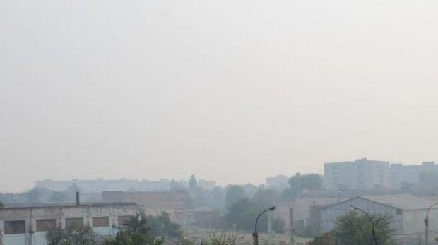 Черкассы и окрестные села окутал едкий дым
