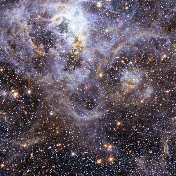 Положение системы VFTS 352 в Большом Магеллановом Облаке / eso.org