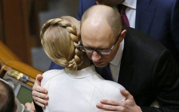 Телеканал Минобороны РФ придумал фейк об интервью Яценюка о домогательствах Тимошенко