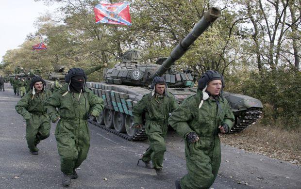 Боевики наращивают войска в районе Донецка — штаб АТО