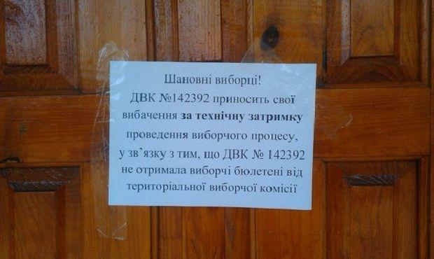 Elections failed in Mariupol / mariupol-express.com.ua