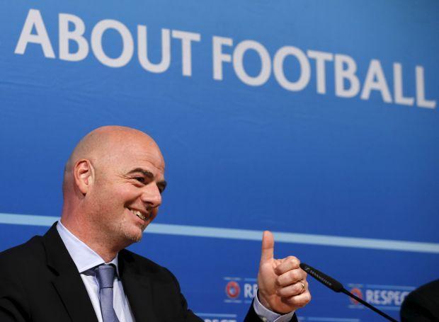 BBC: Джанни Инфантино вступил в борьбу за пост главы ФИФА