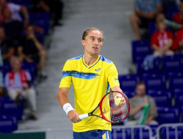 Долгополов не смог завершить матч в Базеле из-за травмы / btu.org.ua