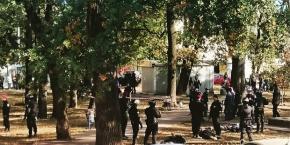 """Столичні правоохоронці озвучили подробиці стрілянини біля станції метро """"Житомирська"""""""
