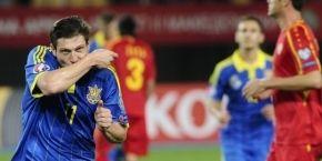 Збірна України обіграла команду Македонії у матчі відбору Євро-2016