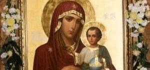В Киеве есть точная копия чудотворной Иерусалимской иконы Божией Матери - о престольном празднике прот. Димитрий Гарчук