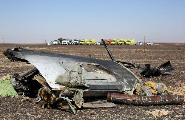 Головна версія катастрофи російського A321
