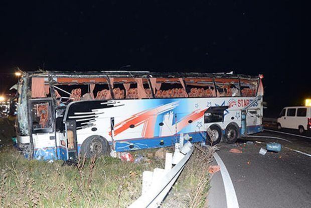 ВАвстрії автобус зукраїнськими номерами потрапив уДТП