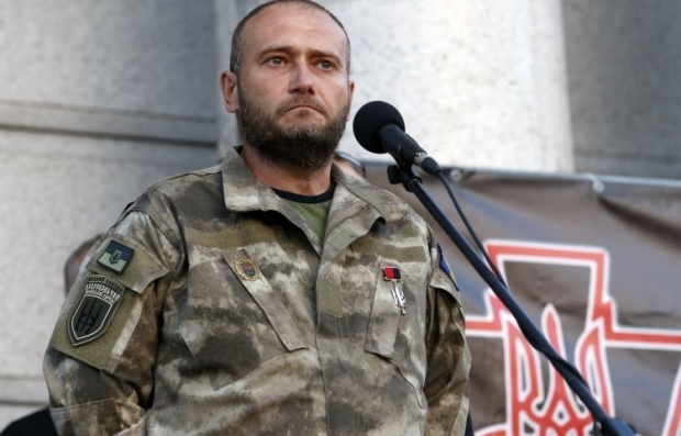Yarosh steps down from Right Sector leadership / Photo from UNIAN