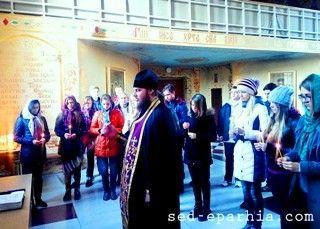 В Северодонецке вознесли заупокойные молитвы по погибшим земляками