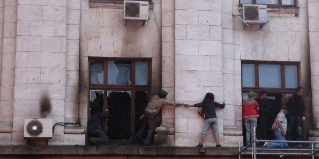 Одеський Будинок профспілок підпалили зсередини— звіт РЄ