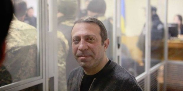 Under the court ruling, Korban must wear an ankle bracelet / Photo from facebook.com/ukrop.ukraine/