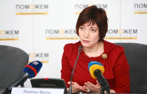 Римма Филь / Фото: Пресс-служба Гуманитарного штаба Рината Ахметова