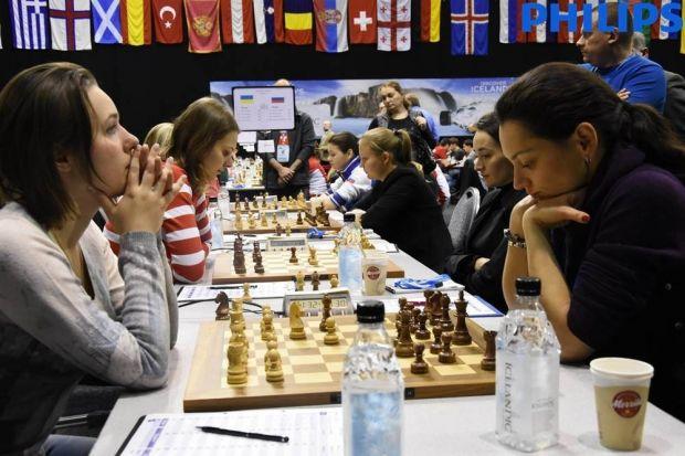 Сборная Украины (слева) заняла 2-е место на командном чемпионате Европы / etcc2015.com