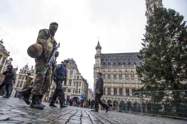 УБрюсселі оголошено найвищий рівень терористичної загрози