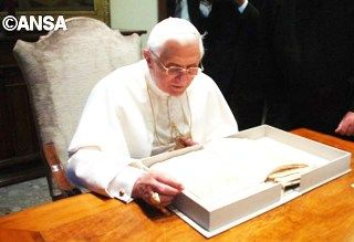 Папа на покое Бенедикт XVI - ANSA