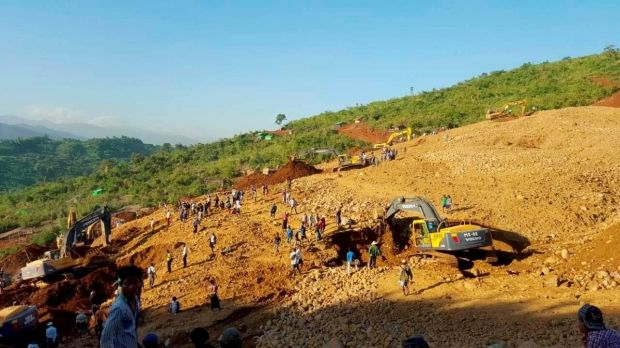 У М'янмі обвалилася нефритова шахта: загинуло майже 100 осіб