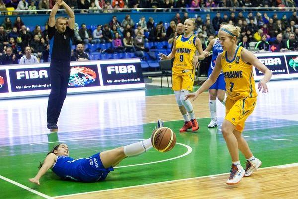 Женская сборная Украины разгромила Люксембург в матче отборочного турнира Евробаскета-2017