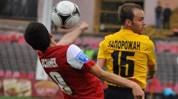 Запорожан забил победный гол