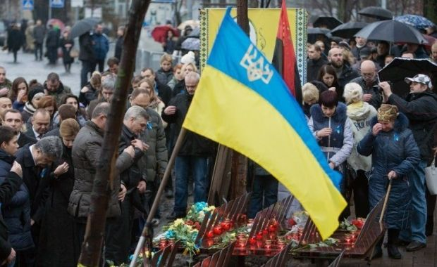 On the anniversary of the Euromaidan Poroshenko stressed that the Revolution is not over / Photo from UNIAN