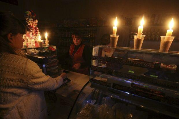 В Крыму путинские оккупанты остановили поставку электроэнергии из РФ по