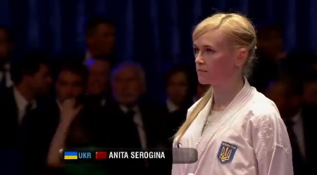 Анита Серегина является обладателем полного комплекта наград чемпионата Украины / sport-xl.org