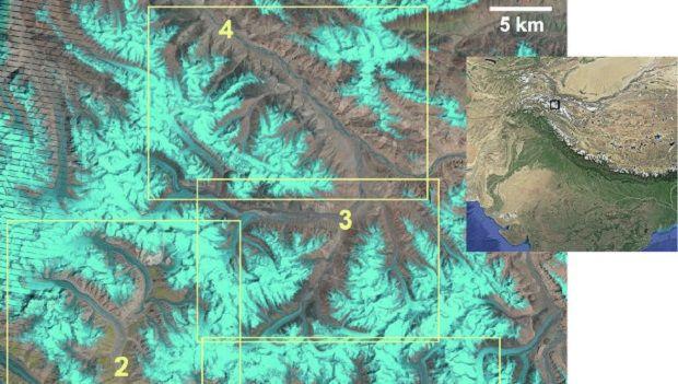 Ученые зафиксировали движение ледников / Скриншот