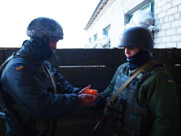 Військові вшанували пам'ять жертв Голодомору / Пресс-центр АТО