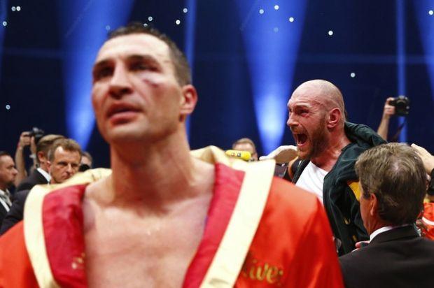Кличко официально объявил о матче-реванше с Фьюри