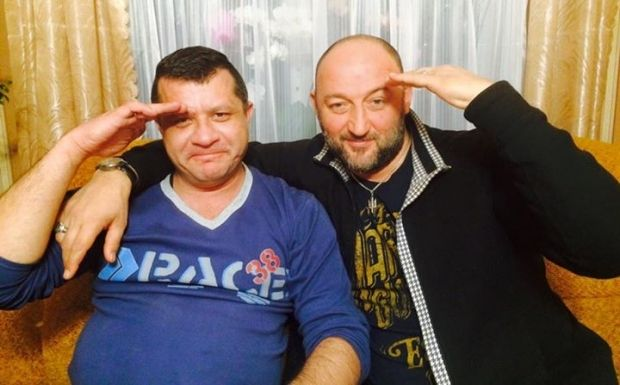 Hrechaniy spent four months in captivity / facebook.com/alex.mochanovречанов / facebook.com/alex.mochanov