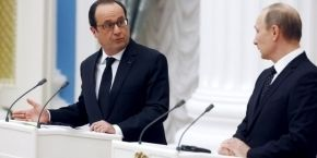 Олланд і Путін домовилися обмінюватися розвідданими - BBC