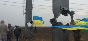 Подрывы ЛЭП в Крым