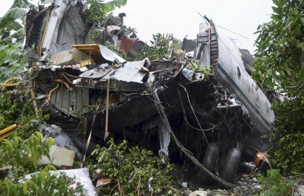 Умережі з'явилося відео падіння літака вСудані