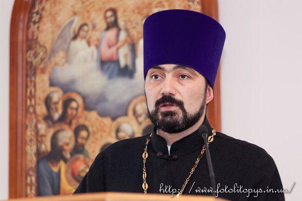 голова Синодального відділу УПЦ у справах пастирської опіки пенітенціарної системи протоієрей Віктор Яценко