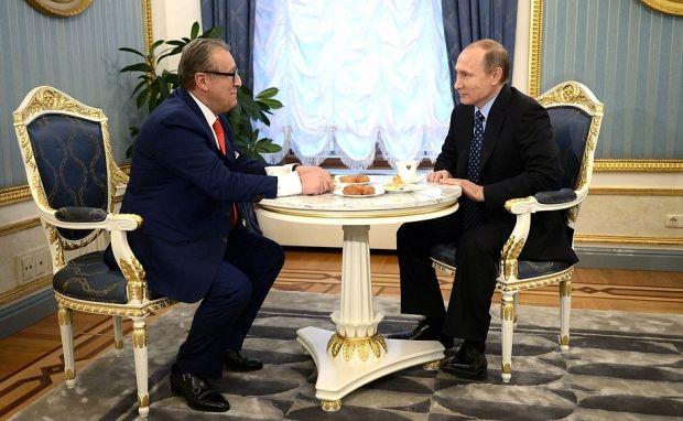 Gennady Khazanov, Vladimir Putin / kremlin.ru