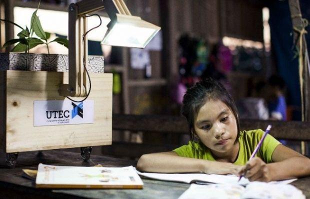 Светодиодная лампа способна работать от энергии комнатных растений / diariocorreo.pe